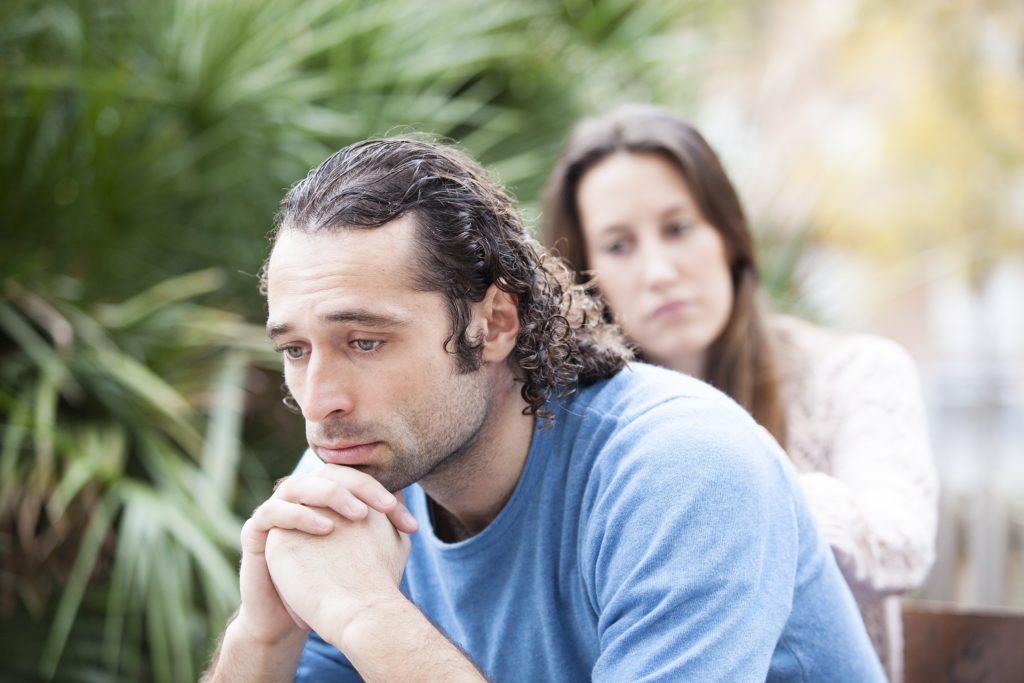 wife doesn't love sad husband